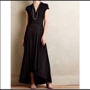 Maeve Desert Star Black Maxi Dress M